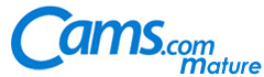 Cams.com Logo - Mature