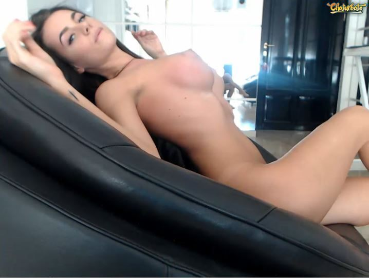 Naked sexy camgirl