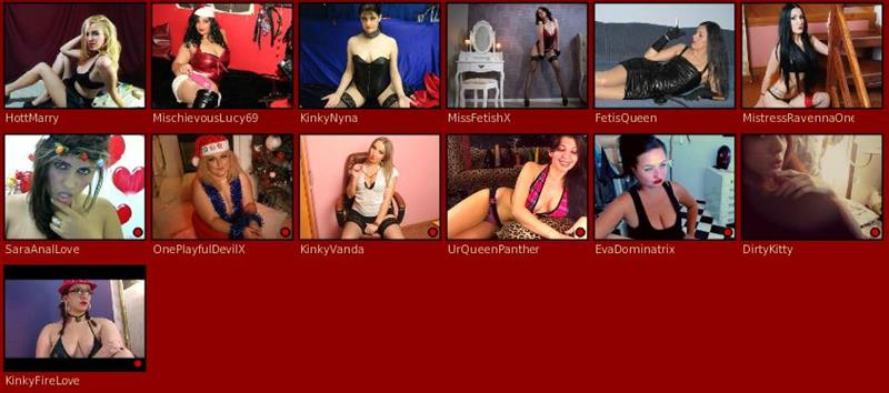 Fetish cams gallery at xLoveFetish